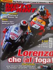 Motosprint 18 2010 SBK Troy Bayliss presenta il round a Monza. Ducati Monster796