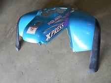 polaris xpress 400 front fender cab fenders plastic blue 97 1996 1997 96