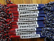 12 Handmade Friendship Bracelet Cotton  Paraguay