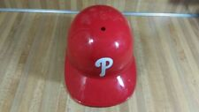 Philadelphia Phillies Plastic Batting Helmet,adult,MLB,vg!