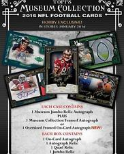 2015 Topps Museum Collection NFL Football HOBBY Box New Factory Sealed