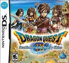 Dragon Quest IX: Sentinels of the Starry Skies (Nintendo DS, 2010) Complete Read