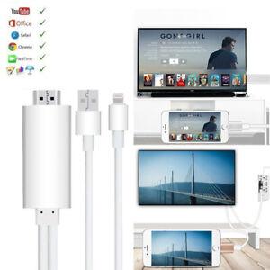 DHL 8 Pin zu HDMI AV Adapter Video Kabel für iPhone 6 6S 7 8 X Xs XR Xs Max iPad