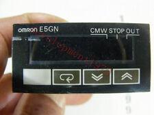Used Omron E5GN-Q1TC Temperature Controller 100-240VAC Tested