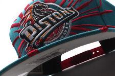 Detroit Pistons Mitchell & Ness (NJ09Z TPC 5PISTO) Earthquake Snapback Hat