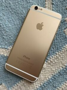 Apple iphone 6 64gb gold unlocked Refurbished Excellent Condition IncAccessories
