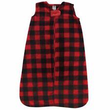 Hudson Baby Unisex Baby Long-Sleeve Plush Sleeping Bag, Sack, Blanket, Buffalo P