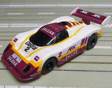 für H0 Slotcar Racing Modellbahn  --   Jaguar XJR mit Tomy Chassis