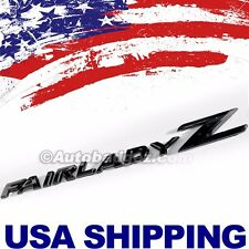 1 - BRAND NEW FAIRLADY Z Badge fits 300ZX 350Z 370Z Z33 240Z (FAIRLADYZ BLACK)