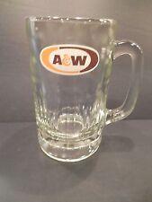 A&W Drinking Glass Tankard Mug Heavy Root Beer Float
