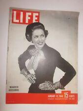 1948 Life Magazine January 12 Midwinter Accessories