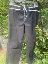 roxy surf pants active pants black/white small S