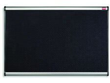 NOBO 'Prestige' Foam Notice Board Black - 1200 x 900 mm + NEXT DAY DEL