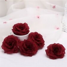 New listing 8cm 10cm Artificial Roses Flower Head for Diy Wedding Flower Wall Kissing Flower
