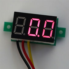 "0.28"" Digital Voltmeter Panel Meter three-wire LED DC 0-100V Voltage Red Durable"