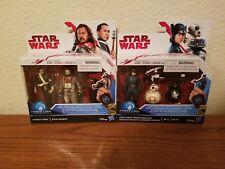"""Star Wars 2 pack sets First Order Rose, BB-8, Baze, Chirrut 3.75"""" Action Figures"""