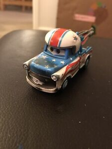 Disney Cars Mater The Greater Burnt Stunt Cannonball Diecast Car