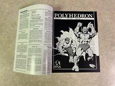 POLYHEDRON 1985 Issue 25 Volume 5 Number 3 RPGA Network TSR Newszine #T933