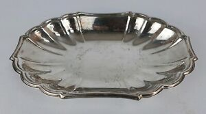 Gorham Heritage Silverplate Oval Dish Bowl YH13
