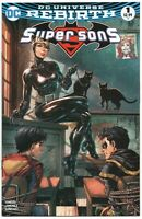 Super Sons 1 DC 2017 NM Tyler Kirkham Variant Catwoman Superboy