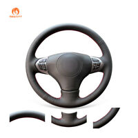 Black Artificial Leather Steering Wheel Cover for Suzuki Grand Vitara 2006-2014