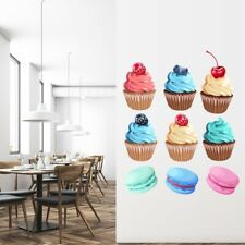 Cupcakes & Postres Cocina vinilos Decorativos Set WS-50840