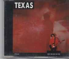 Texas-Why Believe In You cd maxi single