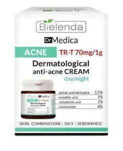 Bielenda Dr Medica Dermatological Anti Acne Face Cream Day/Night Oily Skin 50ml