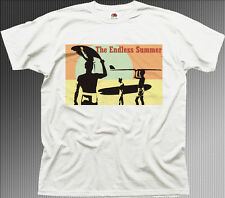 The Endless Summer surfing surf Hawaii Siargao white cotton t-shirt 9899