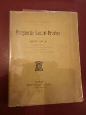 H. Malo Marguerite Burnat-Provins Edition Originale 3/12 Envoi de Burnat-Provins