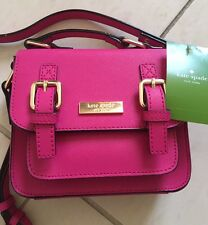 NWT KATE SPADE KID SAFFIANO LEATHER SCOUT CROSSBODY BAG PINK $148