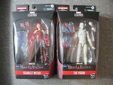 Marvel Legends Disney+ SCARLET WITCH and THE VISION Figure Wandavision