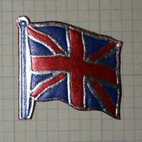 Union Jack Flag Bristish UK Die Cut Foil WW Political & Patriotic Poster Stamp