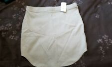 NWT Forever 21 mini skirt, stretch sz. Lg. olive, Sage