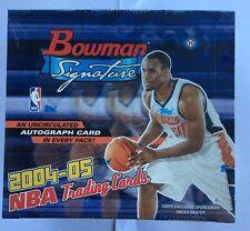 2004-05 Bowman Signature Edition Basketball Hobby Box Factory Sealed