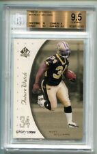 1999 Sp Authentic Ricky Williams Future Watch RC 707/1999 BGS 9.5 Gem Mint