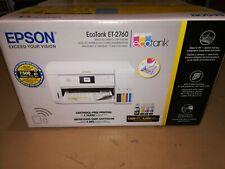 New Epson EcoTank Et-2760 Special Edition All-in-One Wireless Printer Bonus Ink