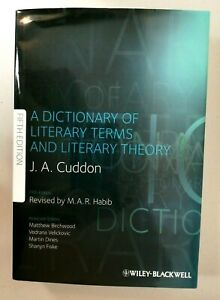 A Dictionary of Literary Terms and Literary Theory by J. A. Cuddon (Hardback)