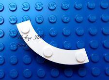 NEW Lego White BRICK ROUND 4X4 Macaroni with 3x Studs