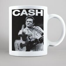 Johnny Cash Mug, Rock Band Gifts, FREE UK Delivery