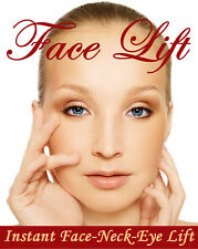 Instant Face, Neck & Eye Lift, 40 Facelift tapes and 5 bands!
