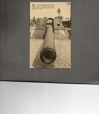 WW1 German Gun at Leugenboom A Moere Belgium unposted card