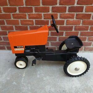 Vintage Allis Chalmers 7045 Pedal Tractor Ertl