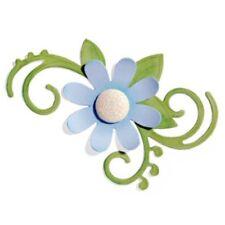 Sizzix Bigz Die - Flourish, Floral w/Leaves - 656520