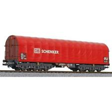 LILIPUT L235778 6-achs.Coiltransportw., Sahimms-u 901, rote Plane, DB Schenker