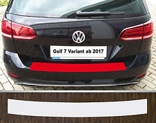 Lackschutzfolie Ladekantenschutz transparent VW Golf 7 Variant, Facelift ab 2017