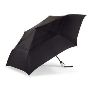 The Indestructible Umbrella Black Auto Open/Auto Close Vented Compact Umbrella