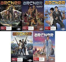 ARCHER Season 1 2 3 4 5 : NEW DVD