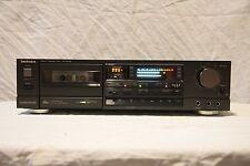 TECHNICS RS-B608R AA class DBX vintage cassette deck auto reverse VGC serviced
