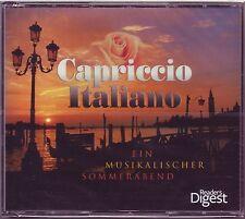 Capriccio italiano-un musikal. ESTATE SERA-READER 'S DIGEST 5 CD BOX OVP